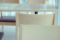 Empty chair with soft tone Stock Photo