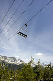 Empty Chairlift, Whistler, Canada Stock Images
