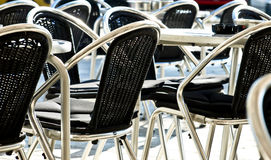 Empty chairs Royalty Free Stock Images
