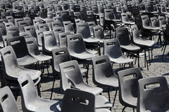 Empty chairs Stock Photos