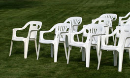 Empty Chairs 3 royalty free stock images
