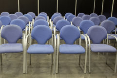 Empty Chairs Royalty Free Stock Photography