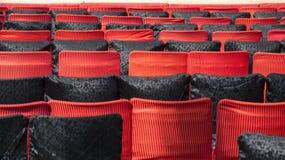 Empty chairs in auditorium Stock Photos