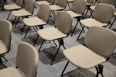 Empty Chairs in convention hall for business company Royalty Free Stock Images