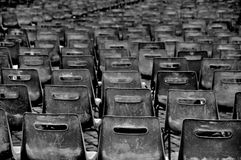 Empty chairs Stock Images