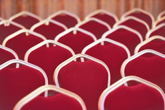 Empty chairs in meeting and events room Royalty Free Stock Images