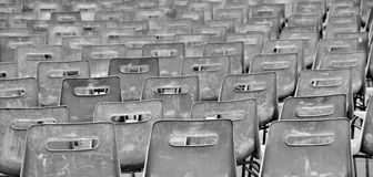 Empty chairs Royalty Free Stock Image