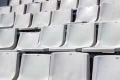Empty chairs of sport stadium Royalty Free Stock Photos