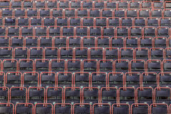 Empty chairs in the theater Stock Photography