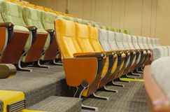 empty chairs in theatre or conference hall Royalty Free Stock Photos