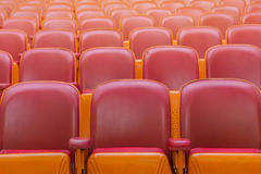 Empty chairs in theatre or conference hall Royalty Free Stock Photo