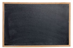 Empty Chalk Board royalty free stock images