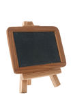 Empty Chalk Board on a easel Royalty Free Stock Image