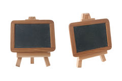 Empty Chalk Board on a easel Royalty Free Stock Photos
