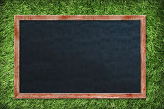 Empty Chalk Board Stock Image