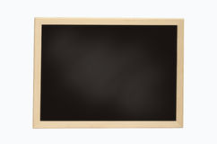 Empty Chalk Board Stock Photo
