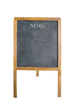 An empty chalk board on tripod Royalty Free Stock Photos