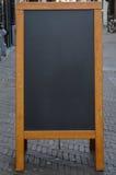 Empty Chalkboard Stock Photo