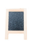 Empty Chalkboard isolate on white with Clipping path Stock Images