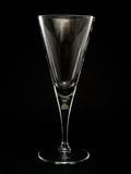 Empty Champagne Flute Royalty Free Stock Image