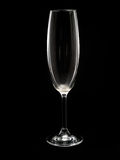 Empty Champagne Flute Royalty Free Stock Images