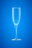 Empty Champagne Glass Royalty Free Stock Images