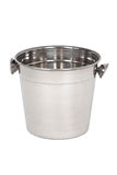 Empty champagne ice bucket Royalty Free Stock Image