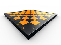 Empty chess board Royalty Free Stock Images