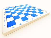 Empty chess board Stock Images