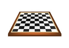 Empty chess board Royalty Free Stock Photos