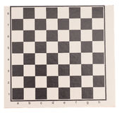Empty chess board Stock Image