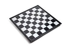 Empty chessboard Royalty Free Stock Photography