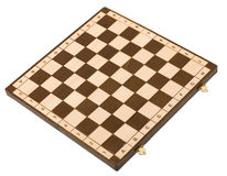 Empty chessboard Royalty Free Stock Image