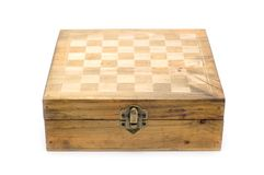 Empty chessboard Stock Image