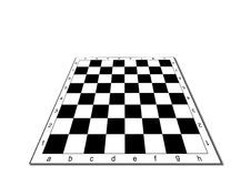 Empty chessboard Stock Photography