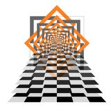 Empty chessboard. checkers Decorative items to decorate your work. Vector design elements. Abstract pattern vector background vect royalty free illustration