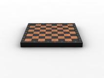 Empty chessboard Stock Image