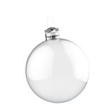 Empty Christmas ornament Royalty Free Stock Images