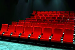 Empty cinema Royalty Free Stock Images