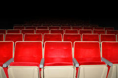 Empty cinema. Stock Photos