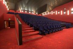 Empty cinema auditorium Royalty Free Stock Photos