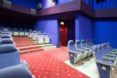Empty cinema auditorium Stock Images