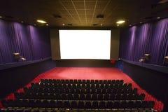 Empty cinema auditorium Stock Photography
