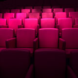 Empty cinema auditorium Stock Image