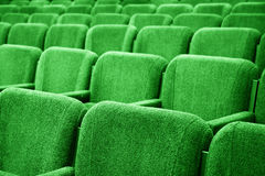 Empty cinema auditorium background Royalty Free Stock Photos