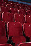 Empty cinema hall Royalty Free Stock Photo