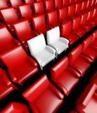 Empty cinema hall with auditorium Royalty Free Stock Image