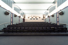 Empty cinema hall Royalty Free Stock Photography