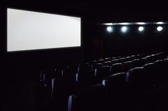 Empty cinema hall Royalty Free Stock Images