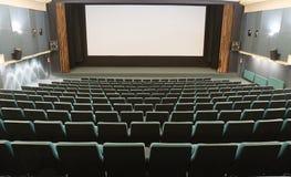 Empty cinema interior Stock Image